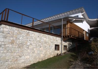 Villa ecosostenibile a Comerio